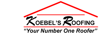 Koebel's Roofing Contractor Logo